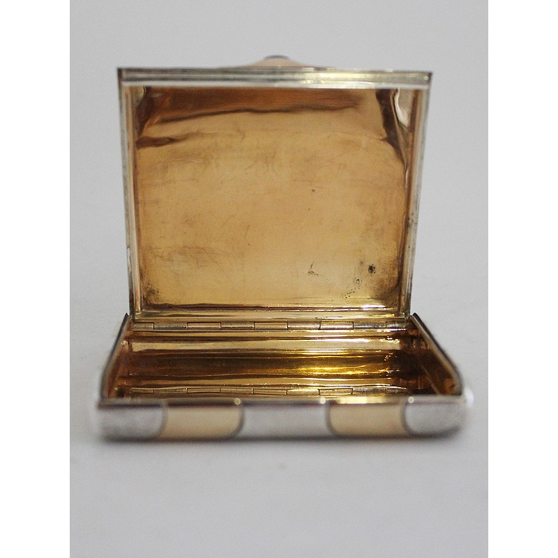 art-deco-business-card-case, german, Maker´s mark Ernst Gideon Bekh,
