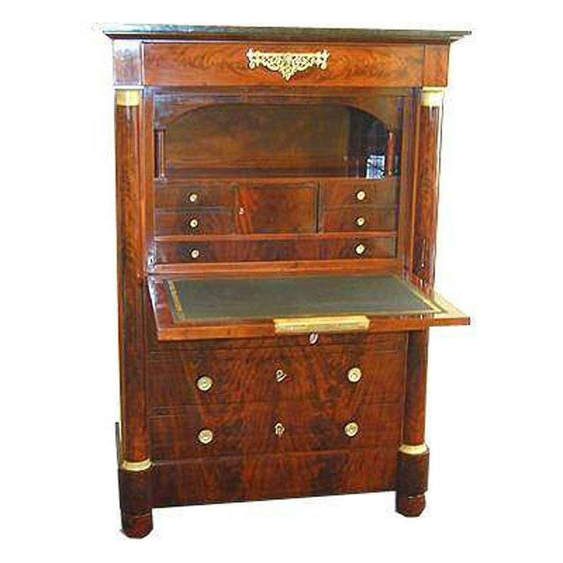 secretaire elegant bois armoire bureau secretaire design. Black Bedroom Furniture Sets. Home Design Ideas