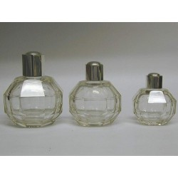 Set of Art-Déco Scent Bottles