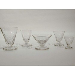 Art Déco Glass-Set of 30...
