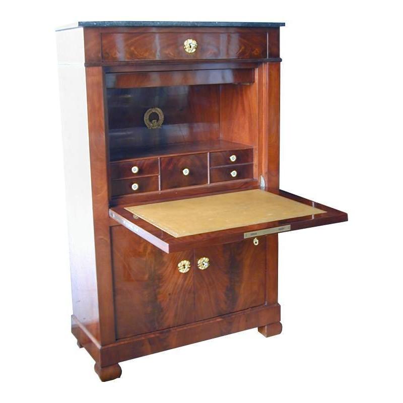 Antique Furniture Mahogany Secretaire