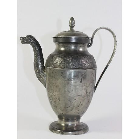 Tin Mocca Coffee Pot