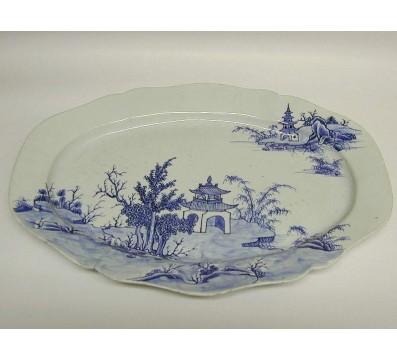 Oval China-Platter