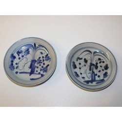 Two Small Ming-Dynasty Plates
