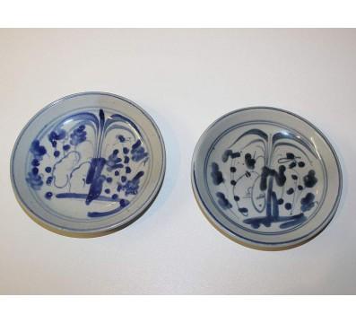 Zwei kleine Ming-Dynastie-Teller