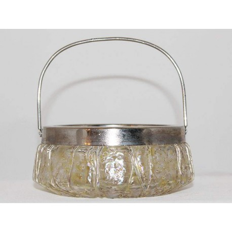 Art Nouveau Handled Bowl