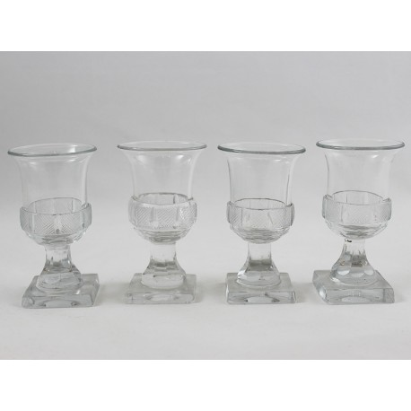 Set of 04 Empire-Shot-Glasses