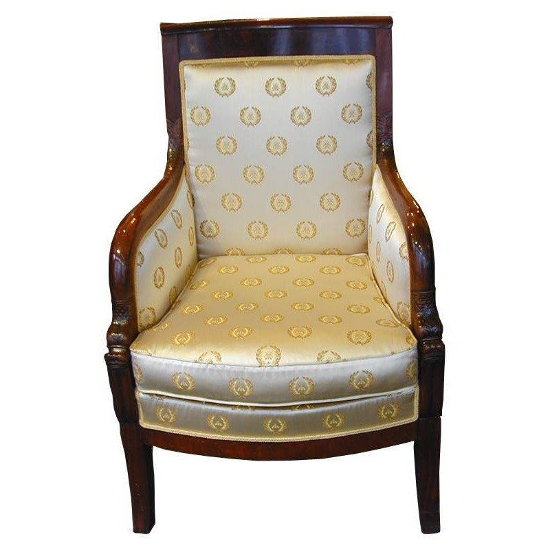 antiquit ten antike m bel empire bergere antiker polstersessel. Black Bedroom Furniture Sets. Home Design Ideas